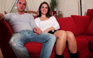 Jeune couple libertin