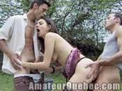 D�butante sodomis�e par deux pervers